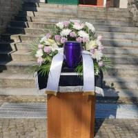 Urnenbeisetzung auf dem Friedhof Kaulsdorf