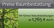 Preise Baumbestattung