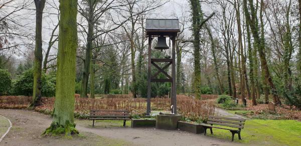 Betsatter in Berlin Pankow - Glockenturm vor der Kapelle