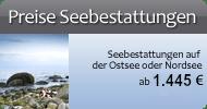 Preise Seebestattung